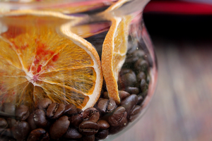 70. orange coffee by littleconfusion