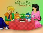 Wally and Kuki by Melby7777