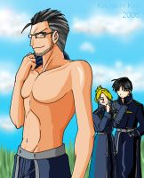 FMA: Hughes Is Hawt by kalamitykat