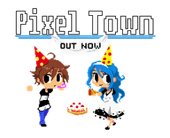 Pixel_Town Out Now by Jump-Button