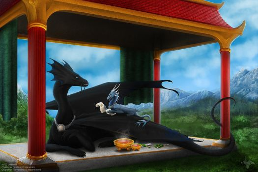 Commission: Valinor and Temeraire by Diterkha