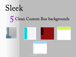 5 Free Sleek Backgrounds Pack by Astrikos