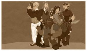 The Holwing Wolf Crew - final? by OttoArantes