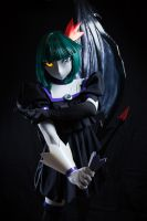 Dark Precure kigurumi cosplay by cocoa-box