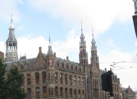 Amsterdam Post office (lidal) by Hermione75