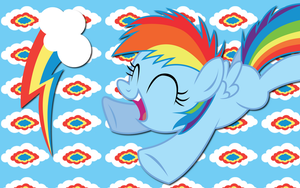 Rainbow Dash wallpaper 9 by AliceHumanSacrifice0