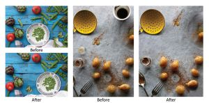 Culinary Art - Exhibition Poster - Working Shots by Harry-Paraskeva