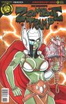 Zombie Tramp Thor Sketch Cover by BillMcKay