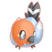 Fletchling by Clinkorz