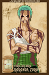 EPP - Thriller Bark: Roronoa Zoro by SergiART