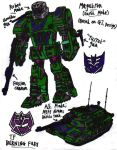 Transformers: Burning Fury - Megatron (Earth Mode) by KrytenMarkGen-0