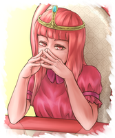 Princess Bubblegum by hikarurain