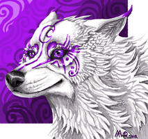 Lupine Pixel art by lupinemoonfeather