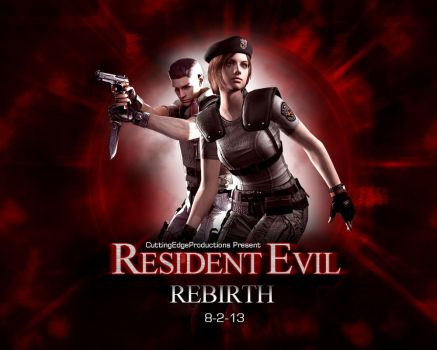 Resident Evil: Rebirth HD Wallpaper by CuttingEdge93