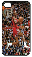 Michael Jordan Slam Dunk Iphone 4 Case by Daisydiy