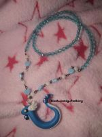 Dragonair necklace by gothic-yuna
