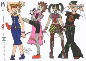Mindless Self Indulgence by Candy2021