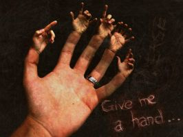 Give me a hand... by tigmc51
