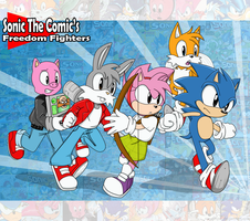 Sonic the Comic 20th by AoNoChaos