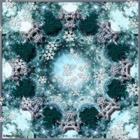 20150915-Winter-Forest-Mandala-v20 by quasihedron