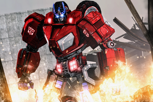 Optimus Prime by AngryRabbitGmoD