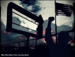 Men who want their Country Back. by Kravon1
