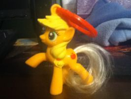 Apple Jack Figure by cloudyrainbow561