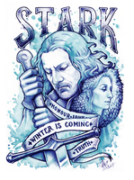 WINTER IS COMING by Medusa-Dollmaker