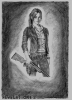Claire Redfield REvelations 2 by ZigArtwork