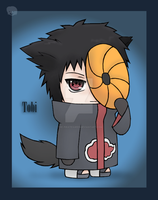 Naruto+Chibis: Tobi by The-PirateQueen