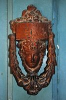 Door knocker by LucieG-Stock
