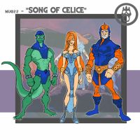 Song of Celice - Concepts by thejason10