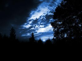 Dark Blue Sky by Limited-Vision-Stock