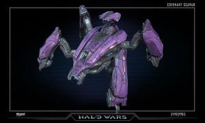 Halo Wars Scarab by saizarod