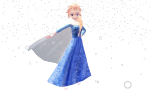 MMD Newcomer: Animasa Elsa The Snow Queen [FROZEN] by SekaiiKawaii