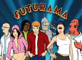 Futurama by whitetigerisme