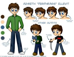 Azhketh Reference Sheet by Ariniel