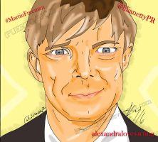 Martin Freeman - LilianettyPR - ArtWORK by LilianettyPR