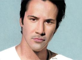Keanu Reeves by emilie-creations