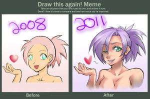 Before and After meme by narufma