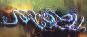 Wormadon graffiti digital by freezu