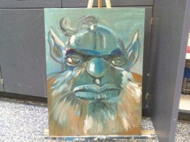 Gnome Painting by CHR15T0PH3L35