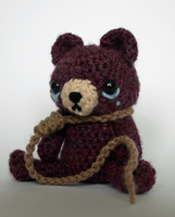 Contemplating Amigurumicide by MaffersToys
