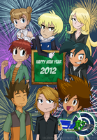 HAPPY NEW YEAR 2012 by DigimonXevolution199