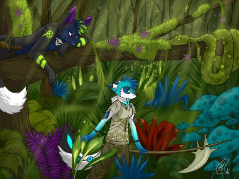 Watching with Arys and Toxyn - FINISHED! by The-Flaming-Tiger