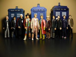 All 11 finally together by DoctorWhoNC