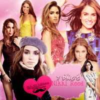 Pack PNG Nikki Reed by MajoAlgo