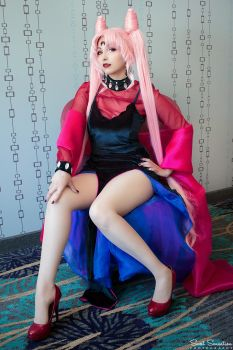 Sailor Moon R - Black Lady Cosplay by HezaChan
