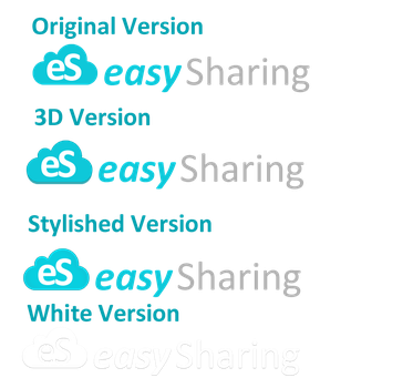 Easy Sharing Logo - Sold by crativearch