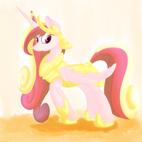 Princess Cadance by BlueySketches